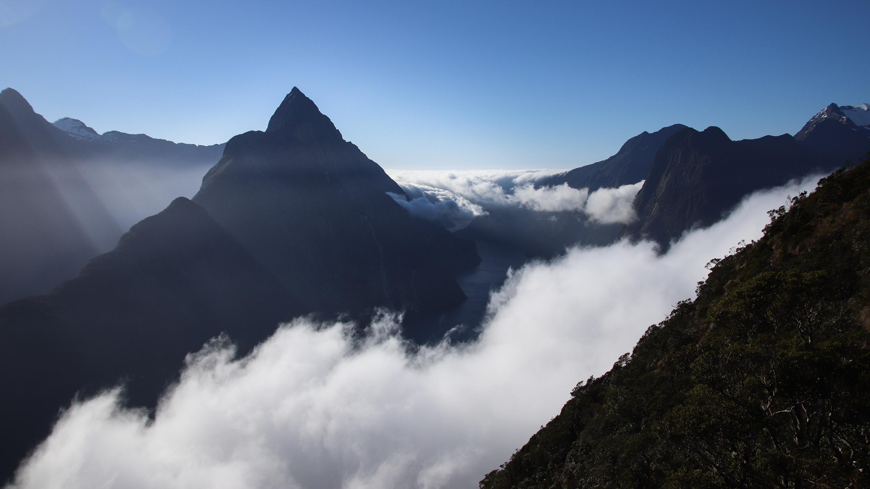 Milford Sound – Mitre peak & Cascade peak – Nouvelle Zélande